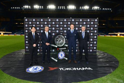 Yokohama Rubber Concludes Sponsorship Agreement with English Premier League's Chelsea Football Club