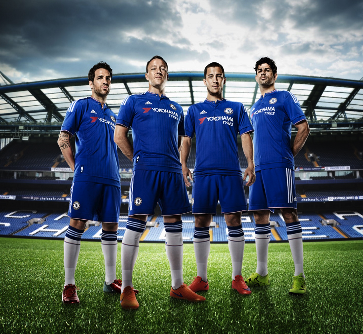 "e8af49e36c91 Chelsea Football Club Unveils New Uniform with ""YOKOHAMA TYRES"" Logo"