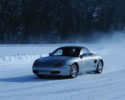 Ice Driving Canada takes to the ice of Lac des Sables in Yokohama winter tires